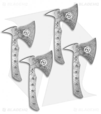 "Southern Grind Wasp 11.5"" Throwing Axe (Set of 4)"