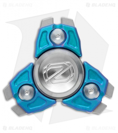 Stedemon Z08 Three Leaves Fidget Spinner Titanium (Blue)