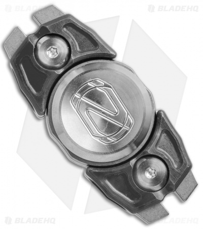 Stedemon Z07 Two Leaves Fidget Spinner Stainless Steel (Black)