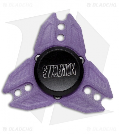 Stedemon Z04 G-10 Fidget Spinner (Purple)