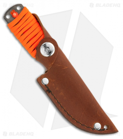 "Svord EDC Hiker 3"" Knife Every Day Carry Fixed Blade Orange Paracord"