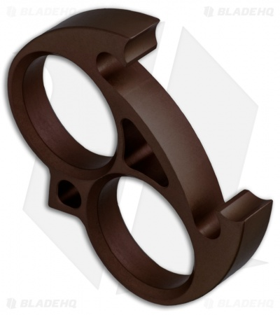 tactikOwl Wise Guy Knuck Bottle Opener - Brown