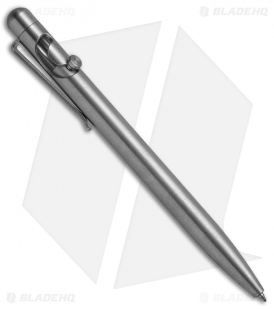 Tactile Turn Glider Bolt-Action Pen - Stainless Steel