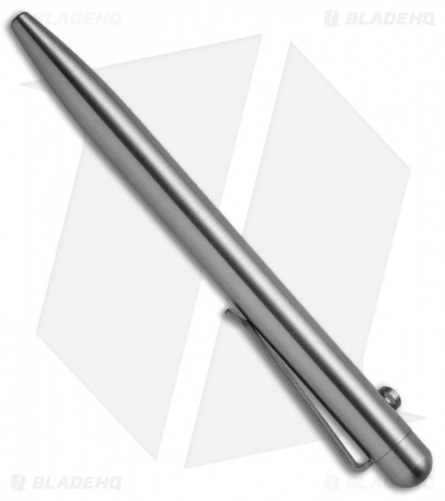 Tactile Turn Slider Bolt-Action Pen - Stainless Steel
