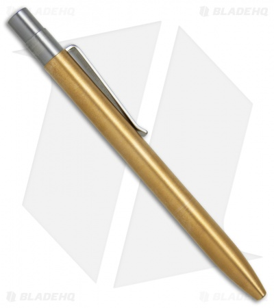 Tactile Turn Mover Machined Pen - Polished Brass