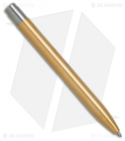 Tactile Turn Shaker Machined Pen - Polished Brass