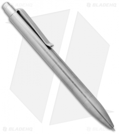 Tactile Turn Mover Machined Pen - Raw Aluminum