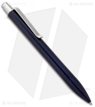 Tactile Turn Mover Machined Pen - Dark Blue Aluminum