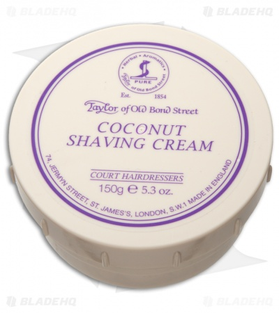 Taylor of Old Bond Street Coconut Shaving Cream Bowl (150g) 01016