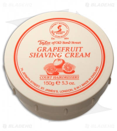 Taylor of Old Bond Street Grapefruit Shaving Cream Bowl (150g) 01017