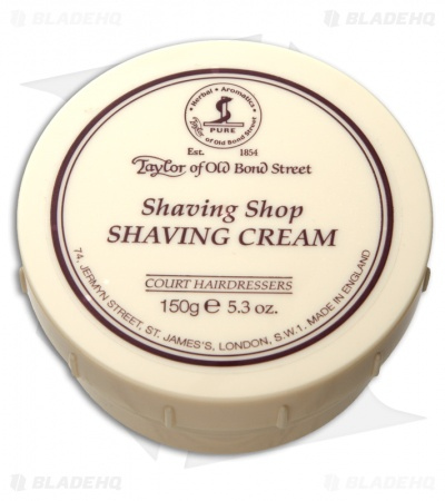 Taylor of Old Bond Street Shaving Shop Shaving Cream Bowl (150g) 01007