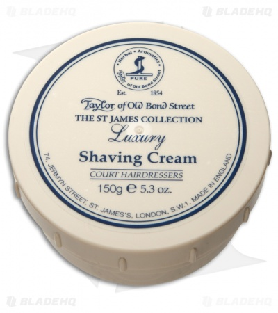 Taylor of Old Bond Street St. James Collection Shaving Cream Bowl (150g) 01015
