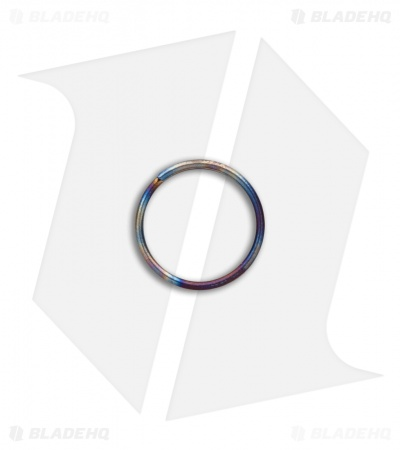 TiSurvival 14mm Titanium Split Ring - Polished Hot Spot