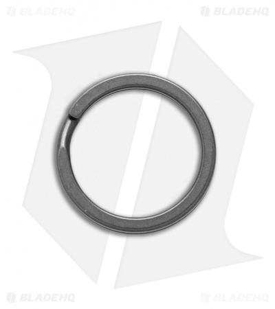 TiSurvival 19mm Titanium Split Ring - Stonewash