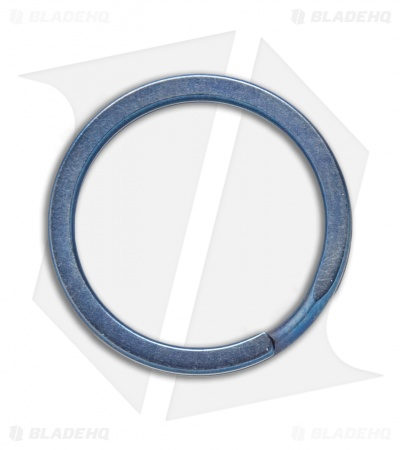 TiSurvival 25mm Titanium Split Ring - Blue