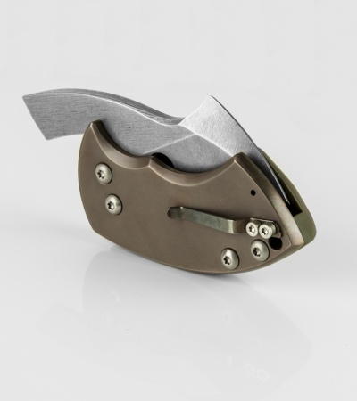 "TuffKnives War Toad G-10 OG Friction Folder Knife (2.1"" SW)"