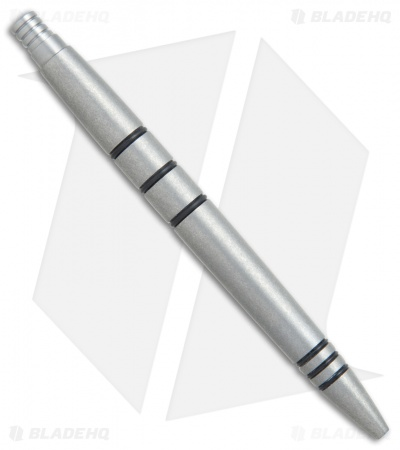 Tuff-Writer Mini Click Series Tumbled Titanium Retractable Pen