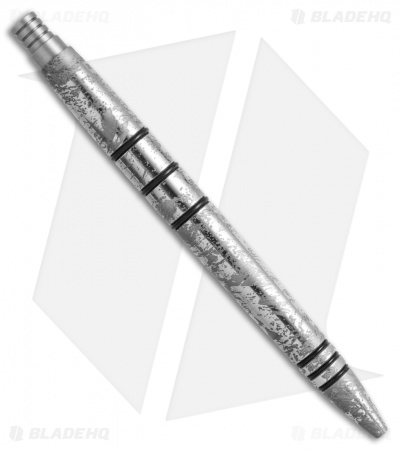 Tuff-Writer Mini Click Series Apocolypse Wash Stainless Steel Retractable Pen