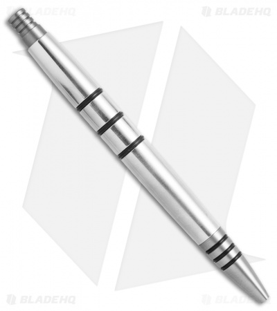 Tuff-Writer Mini Click Series Polished Aluminum Retractable Pen