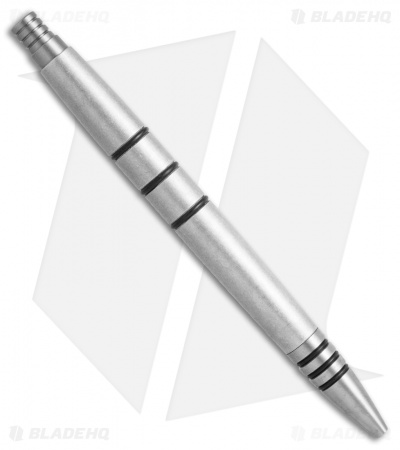 Tuff-Writer Mini Click Series Tumbled Aluminum Retractable Pen