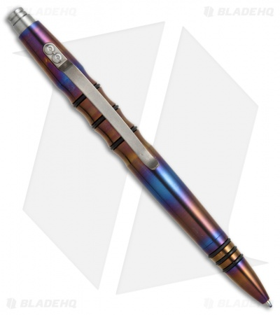 Tuff-Writer Precision Press Series Flamed Titanium Retractable Pen