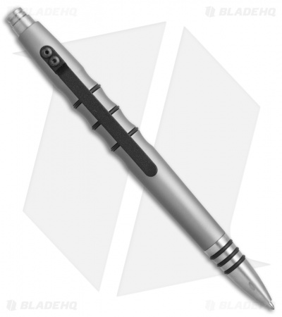 Tuff-Writer Precision Press Series Gray Aluminum Retractable Pen