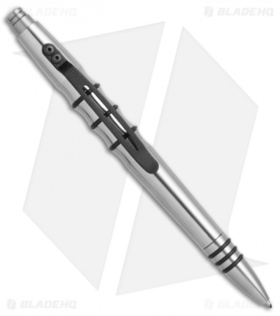 Tuff-Writer Precision Press Series Polished Stainless Steel Retractable Pen
