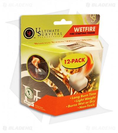 UST WetFire Fire Starting Tinder (12-Pack)