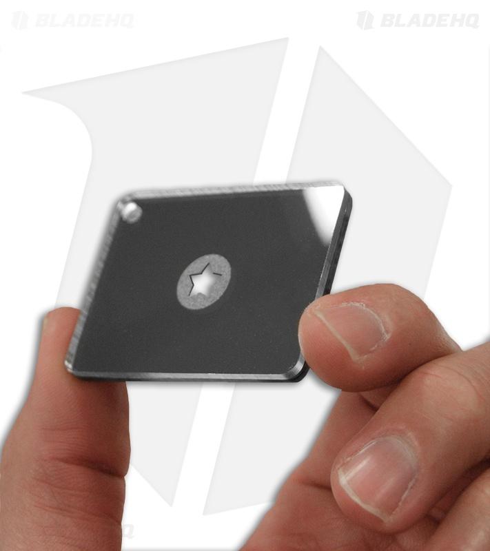Ust Starflash Micro Signal Mirror 1 5 Quot X 2 Quot Blade Hq