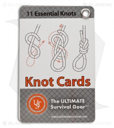 UST Ultimate Survival Knot Instruction Cards