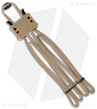 UZI FLX Cuff Foldable Double Disposable Cuff Restraint (Tan) UZI-FLXC-TAN