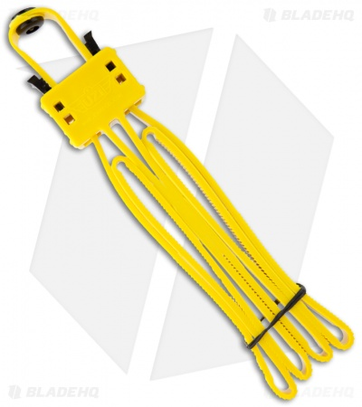 UZI FLX Cuff Foldable Double Disposable Cuff Restraint (Yellow) UZI-FLXC-YW