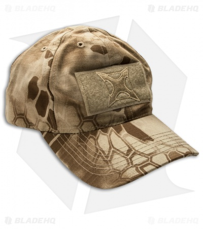 Vertx Kryptek Nomad Hat w/ Velcro Patches & Embroidery VTX9945KNM