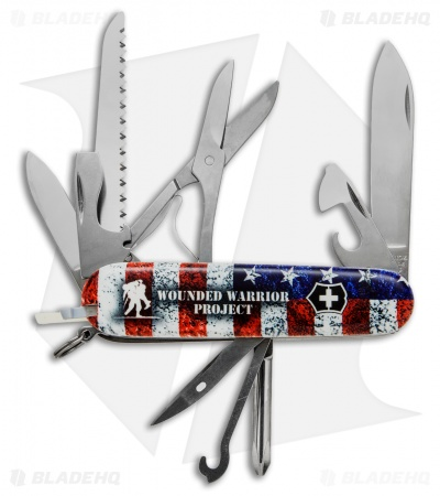 Victorinox Swiss Army Knife Fieldmaster U.S. Flag WWP 55075.US2