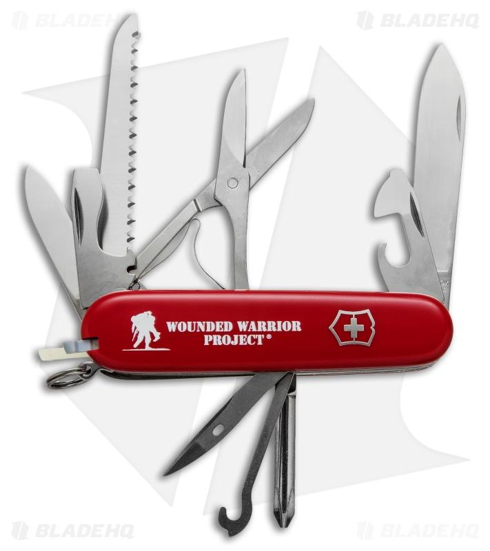 Victorinox Swiss Army Knife Fieldmaster Red Wwp 55074 Us2