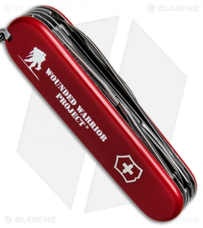 Victorinox Swiss Army Knife Fieldmaster Red WWP 55074.US2