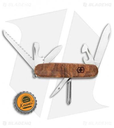 Victorinox Hiker - Swiss Army Knife | Walnut Wood