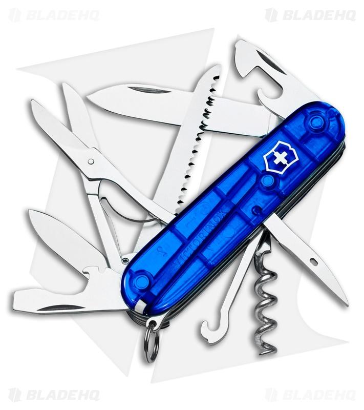 Victorinox Swiss Army Knife Huntsman Sapphire Blue 53206