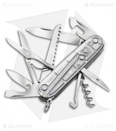 Victorinox Swiss Army Knife Huntsman Silver Tech 54755