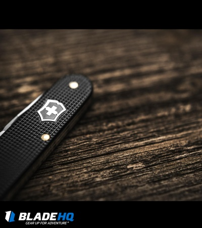 Victorinox Swiss Army Knife Cadet Black Alox Knife 53044