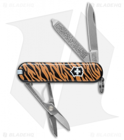 Victorinox Classic SD Swiss Army Knife Tiger 56224