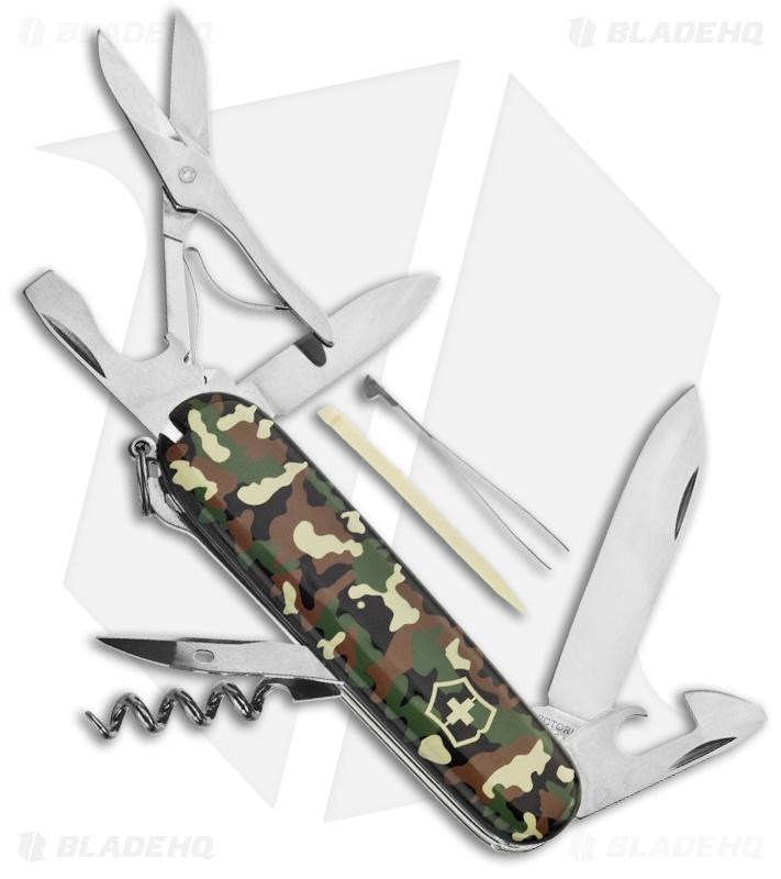 Victorinox Swiss Army Knife Huntsman Camouflage 53500
