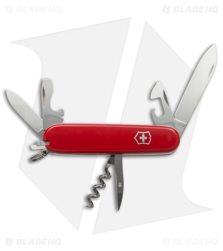 Victorinox Swiss Army Knife Camper Red 53301 Blade Hq