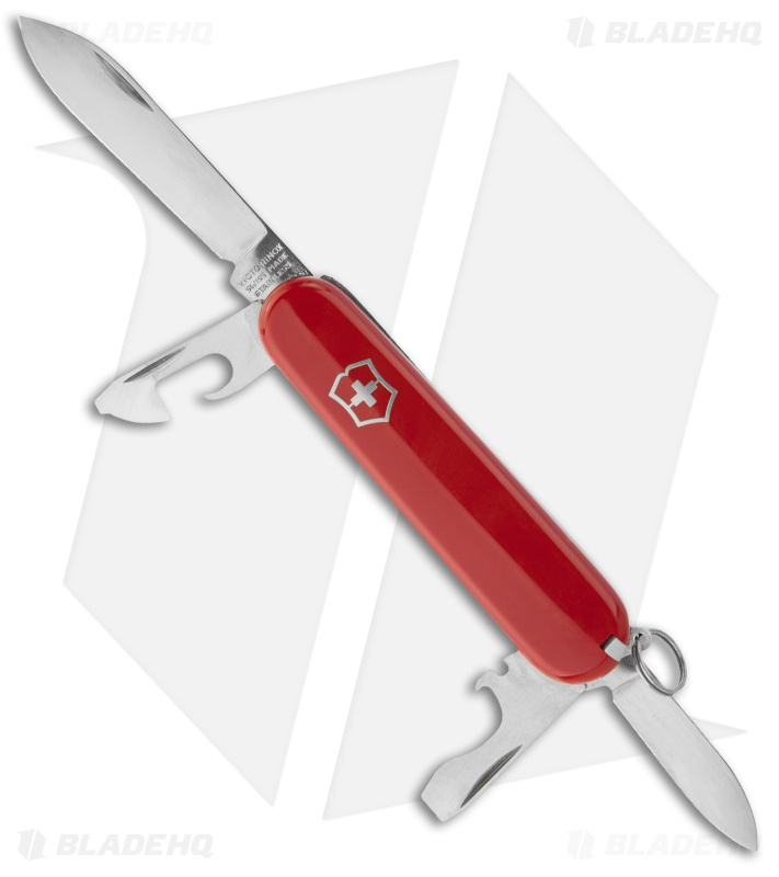 victorinox swiss army knife recruit red 53241 blade hq rh bladehq com Ultimate Swiss Army Knife Ultimate Swiss Army Knife