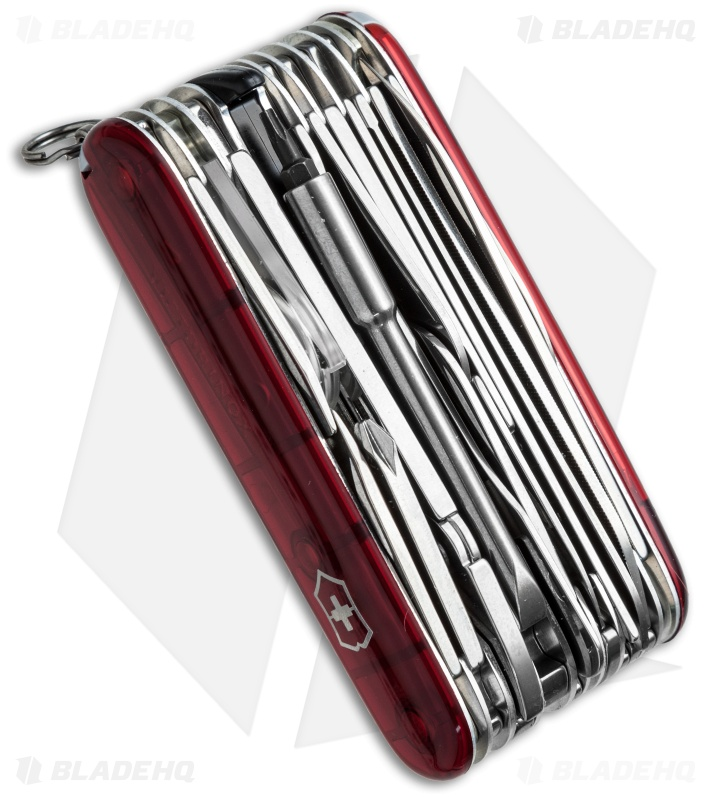Victorinox Swiss Army Swiss Champ Xlt Ruby 53504 Blade Hq
