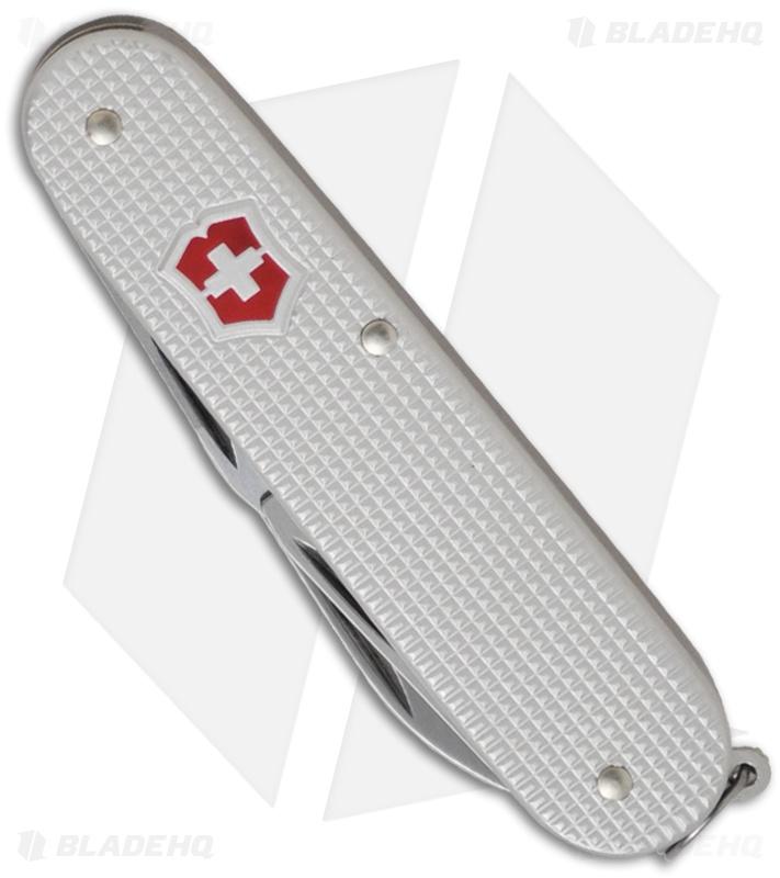Victorinox Swiss Army Knife Cadet Silver Alox Knife 53042