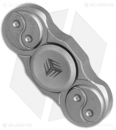 WE Knife Co. S01C Titanium Fidget Spinner (Gray)