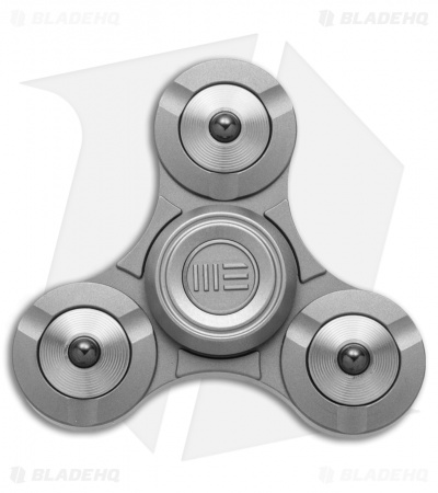 WE Knife Co. S02C Titanium Fidget Tri Spinner (Gray)