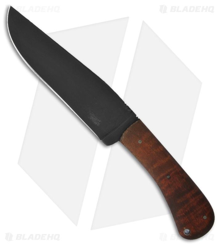 Winkler knives wkii field knife fixed blade w maple wood