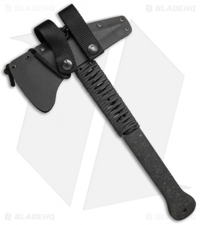 "Winkler Knives WKII Ranger Axe Black Rubber/Cord Wrap (12.5"" Caswell)"